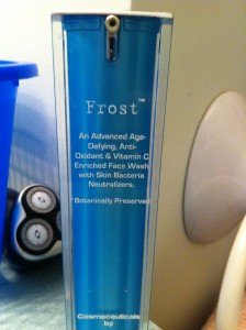 Frost skin cleanser